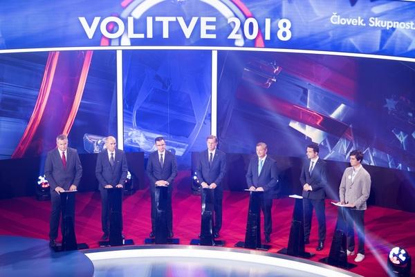 Verkiezingsdebat Slovenië