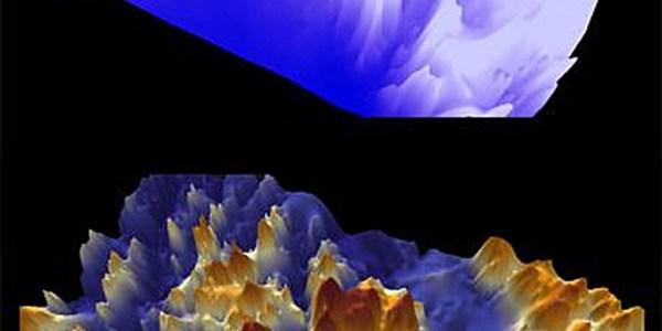 Forscher haben in der Antarktis riesige Täler und Gebirge entdeckt