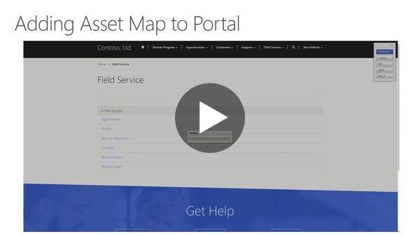 How to Video - Adding Customer Asset Map to Field Service Portal - YouTube