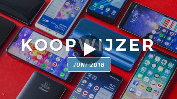 Dit zijn de beste smartphones van juni 2018