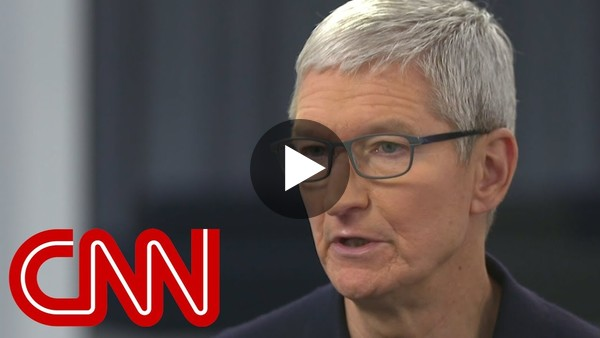 Apple CEO Tim Cook: I use my phone too much