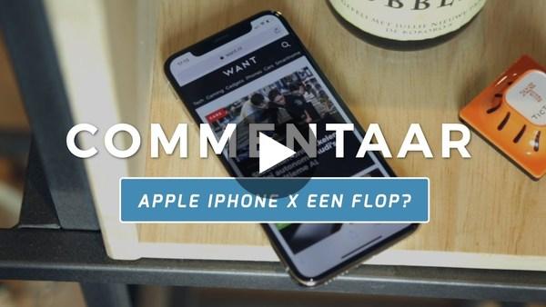 Is Apple's topsmartphone een flop? | Apple iPhone X opnieuw bekeken