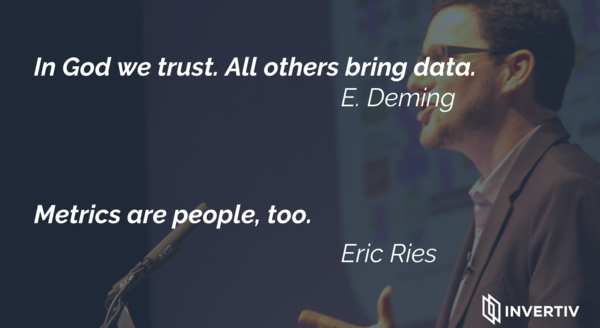 Deming is right. Ries is right, too. Even more.