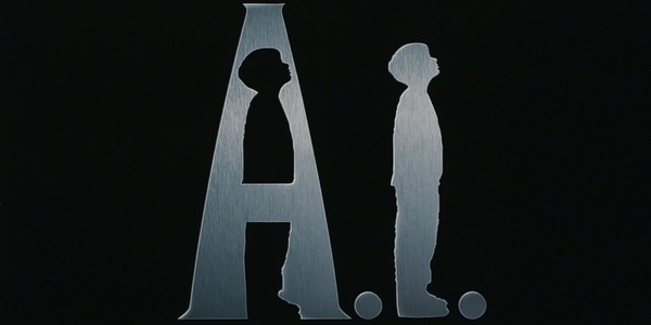 A.I. isn't always easy to illustrate, so here's the Spielberg movie poster.