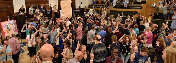 Such joyful worship together. See this and many more like it in our Facebook album (click the picture to be taken there).