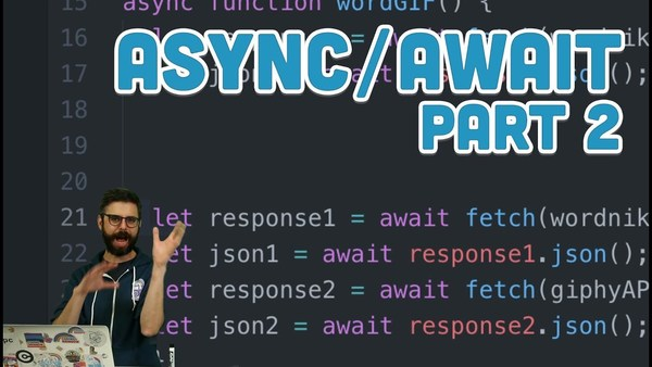 Topics of Javasript: Async/Await