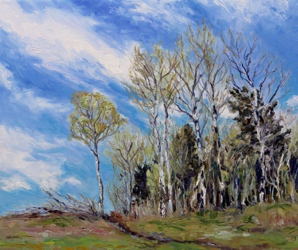 Heading Over the Hill in the Cariboo by Terrill | Artwork Archive