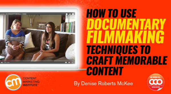 Use Filmmaking Techniques
