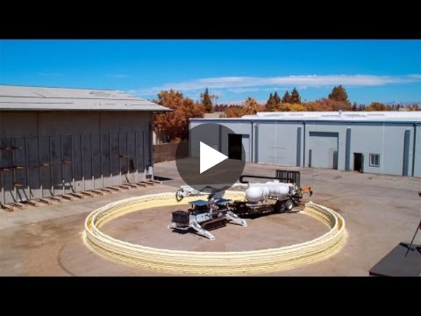 System can 3-D print an entire building - YouTube
