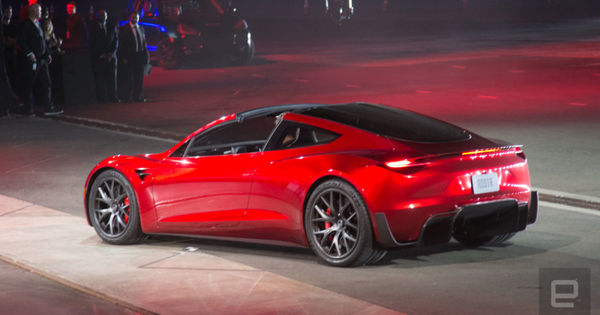 Tesla Roadster may offer SpaceX package with actual rockets