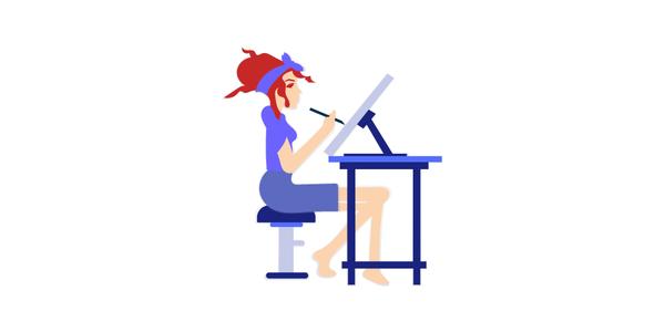 ❤️️ Free Trendy Vector Illustrations