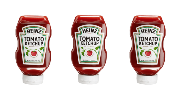 😍 User research for tomato ketchup — how the new shape for the bottle was found