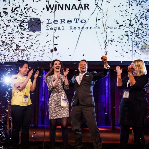 LeReTo wins Legal Tech Startup Awards 2018 | Dutch Legal Tech