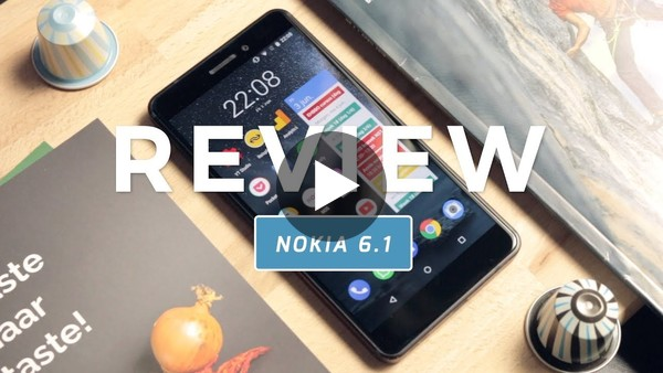 Nokia 6.1 review (Dutch) - YouTube