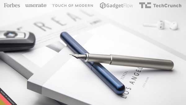KOSMOS Ink Is A Magnetic Fountain Pen You Can Fidget With