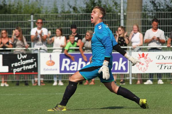 Jan van Arckel-keeper Van der Ven: 'Ik ben niet echt een penaltykiller'