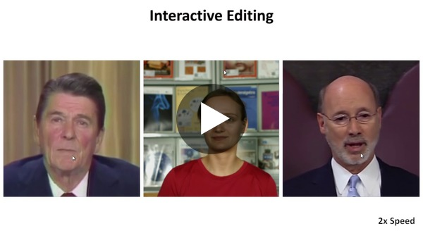 Deep Video Portraits - SIGGRAPH 2018 - YouTube