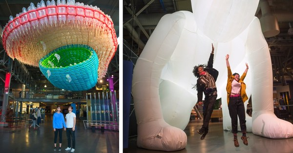 Collective Exhibit at the Exploratorium Embraces Inflatable Art