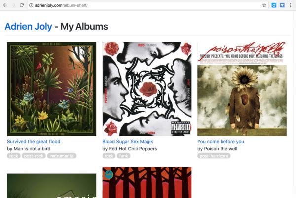 Meet adrienjoly.com/album-shelf
