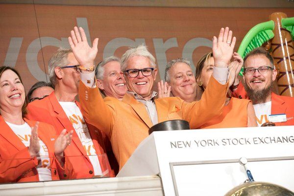 Shares of sales tax software maker Avalara jumped as much as 57% in its first day of trading on Friday.