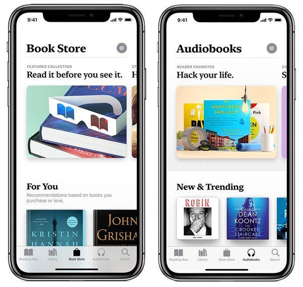 Il nuovo Apple Books