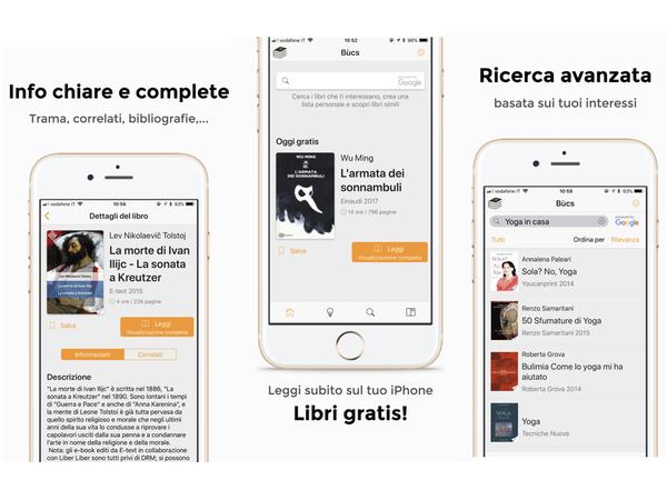 La Bùcs app per iphone