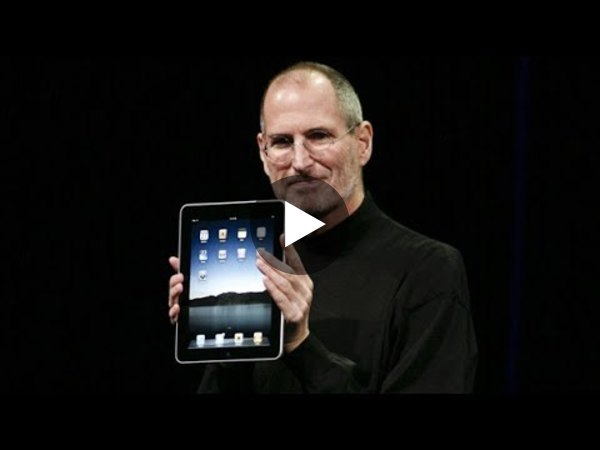 Steve Jobs introduces Original iPad - Apple Special Event (2010) - YouTube