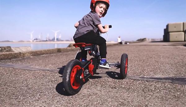 Deze fiets groeit met je kids mee en wordt zelfs elektrisch