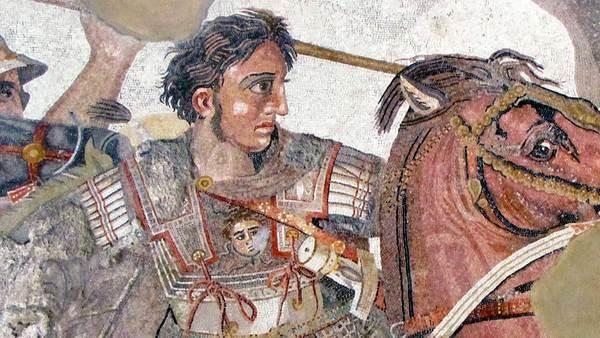 De bekendste Macedoniër, Alexander de Grote