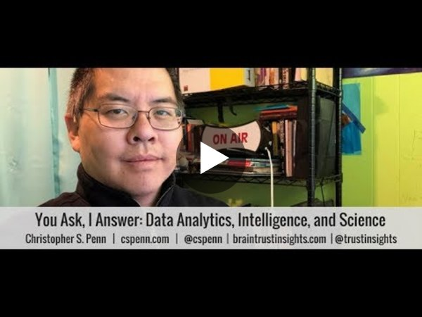 You Ask, I Answer: Data Analytics, Intelligence, and Science - YouTube