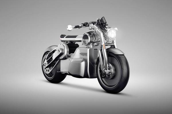Curtis Motorcycles Zeus Concept is de motor van de toekomst