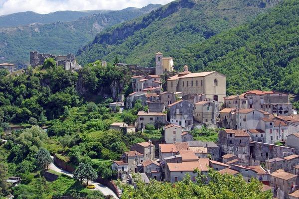 Papasidero, dorpje in Calabrië. Bron: Pixabay