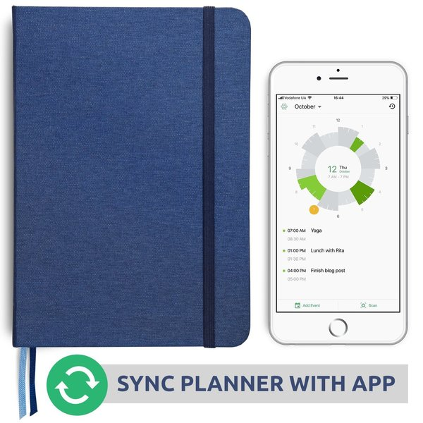 Slice Planner - Best Day Planner Connected to Digital Calendar to Improve Productivity & Achieve Goals in 2018