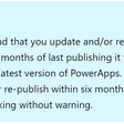 PowerApps Republish Requirement