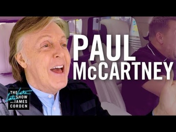 Paul McCartney - Carpool Karaoke