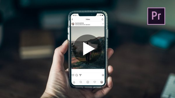 How To Create Vertical Videos For Social Media In Premiere Pro CC - YouTube