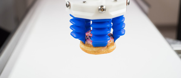 Soft Robotics: Delivering donuts without so much as displacing a sprinkle.
