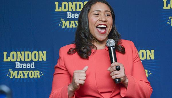 SF Mayor-elect London Breed