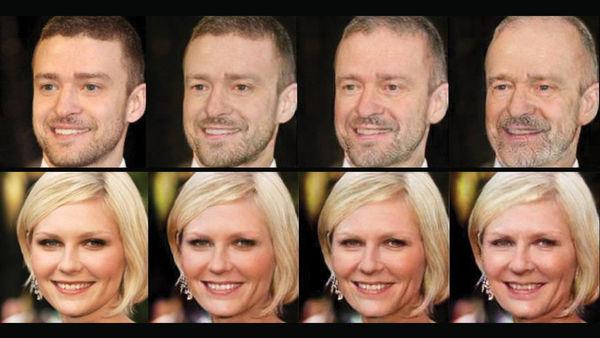 Dieser AI-Algorithmus kann jetzt berechnen, wie Menschen nach Jahrzehnten aussehen