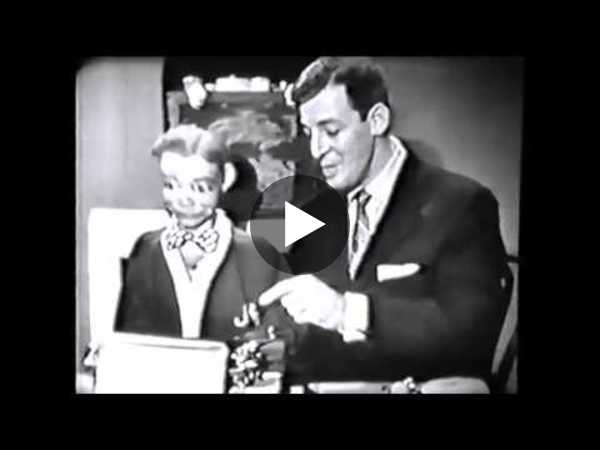 Paul Winchell,Jerry Mahoney & Knucklehead (ventriloquist) (1956) - YouTube