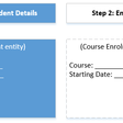 How to edit related entity in CRM Portal web form step