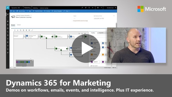 Introducing Dynamics 365 for Marketing - YouTube