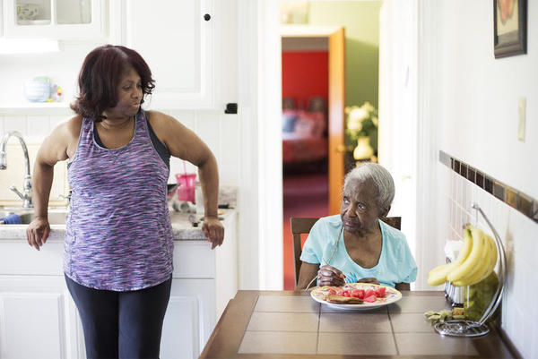 In-Real-Life Coaching for Family Caregivers
