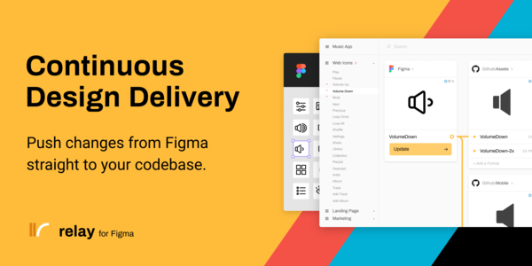 Relay for Figma — Continuous Design Delivery