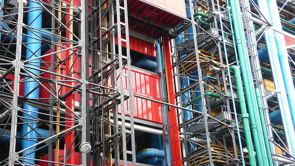 Centre Pompidou is all about loving mechanicals