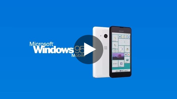 Introducing Windows 95 Mobile - YouTube