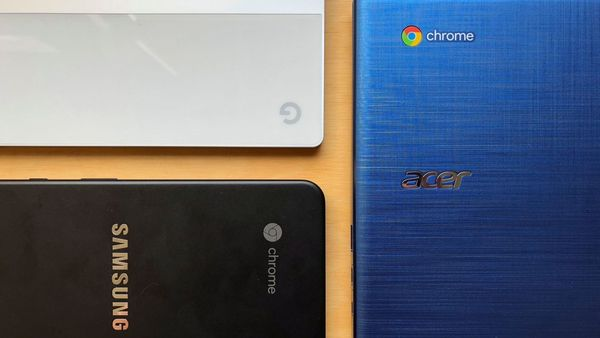 You don't need an Apple Mac laptop—everything you need is in a Google Chromebook