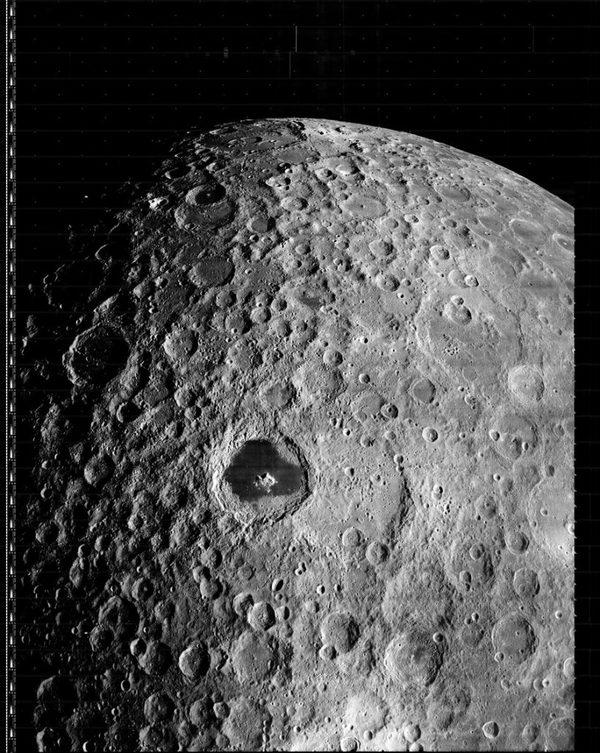 Die ersten Bilder vom Mond waren deutlich hochauflösender als zunächst angenommen