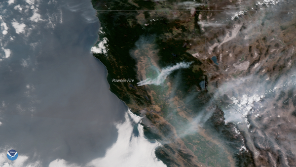 Wildfires in Northern California | NOAA National Environmental Satellite, Data, and Information Service (NESDIS)