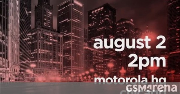 Motorola is making a big announcement on August 2, Moto Z3 and One Power likely to be outed - GSMArena.com news